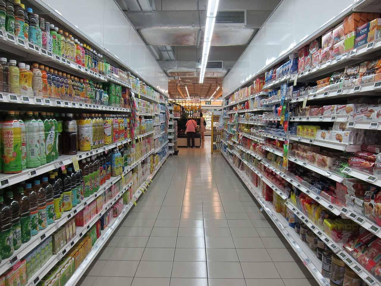 Supermarkt REWE braucht kein Google und kein Amazon