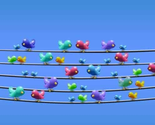 Twitter Nachrichten sind 280 Zeichen lang