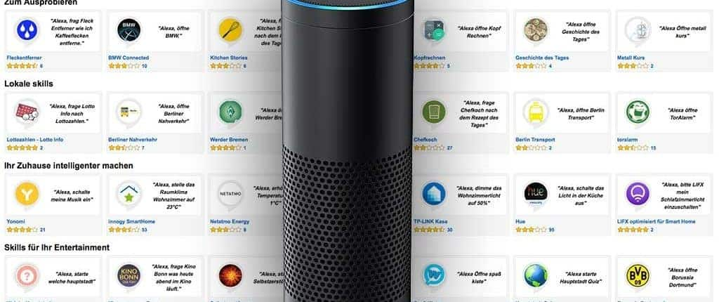 alexa skills selber entwickeln sprachassistenten amazon echo. Black Bedroom Furniture Sets. Home Design Ideas