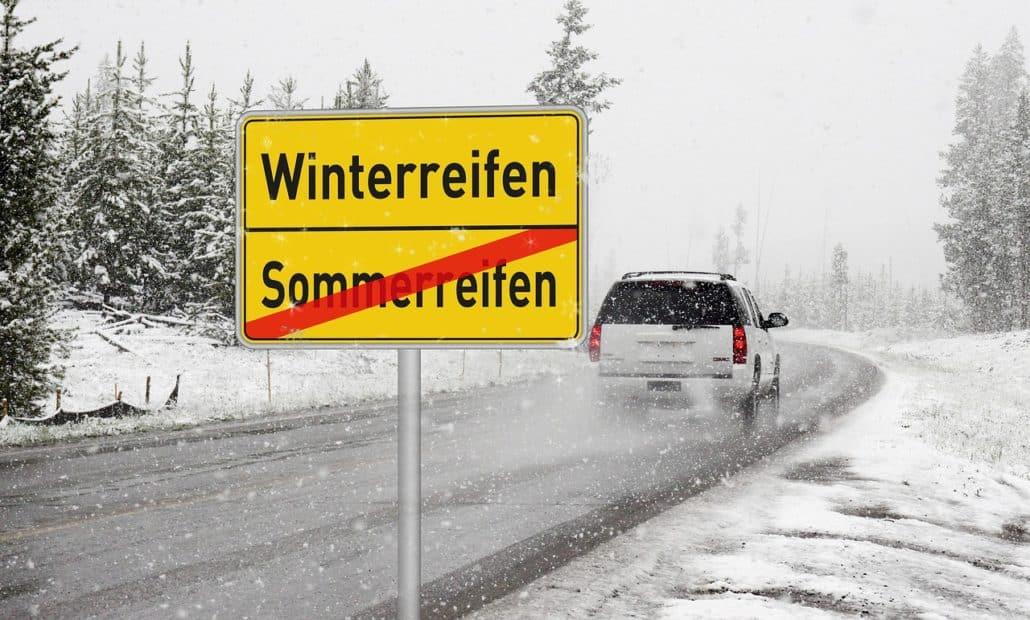 Reifenwechseln - Winterreifen Sommerreifen