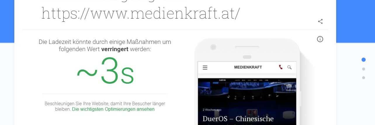 testmysite.withgoogle.handlungsempfehlung