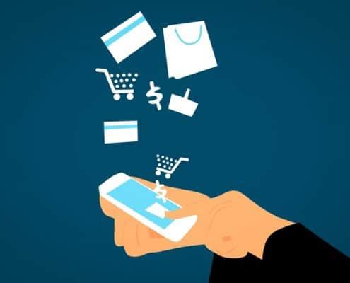 Online vs. offline Shopping - Der Handel in 5 Jahren