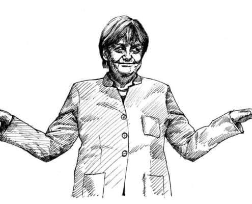 Angela Merkel möchte DSGVO lockern