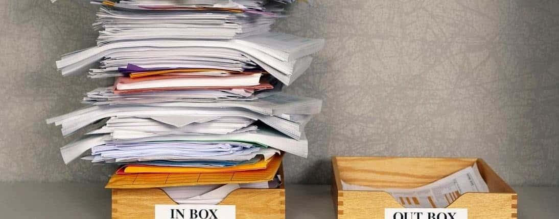 Zero-Inbox - leerer E-Mail Posteingang