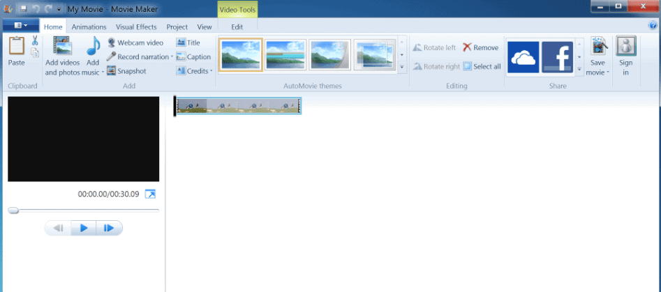 Windows Live Movie Maker - Video-Tool