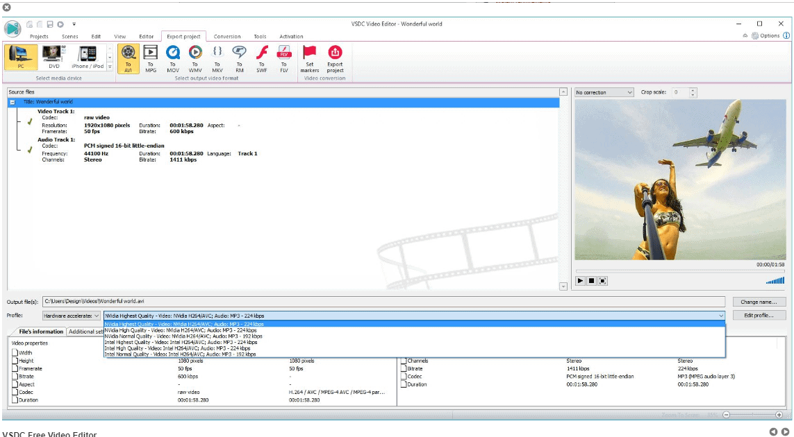 free video editor - Video-Tool