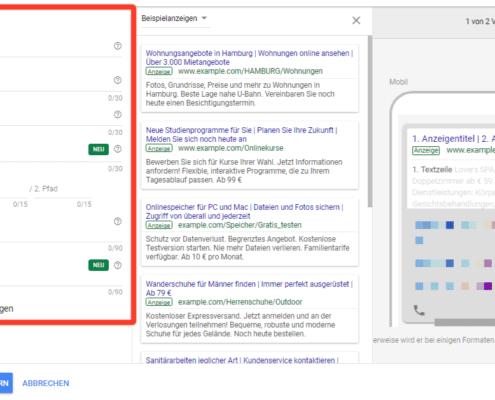 Neues Anzeigenformat - Textanzeigen - Google Ads