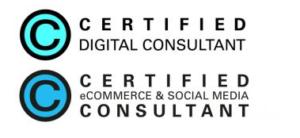 CDC und certified ecommerce u social media consultant