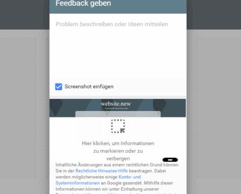 website.new - mit support - Google