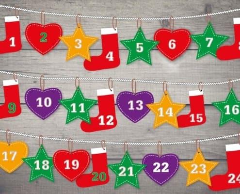 Adventkalender, Gewinnspiele, Aktionen